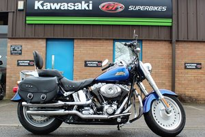 2007 57 Harley Davidson FLSTF Fatboy Custom Cruiser For Sale