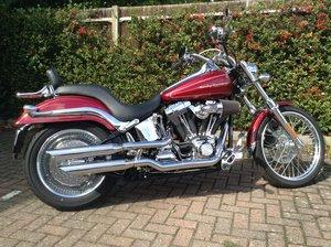 2004 Harley FXSTDI Deuce, 9600 miles + £5k extras