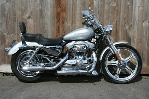 Harley Davidson XL883C Sportster - Genuine 1580 miles
