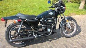 Harley davidson cafe racer XLCR 1977 SOLD
