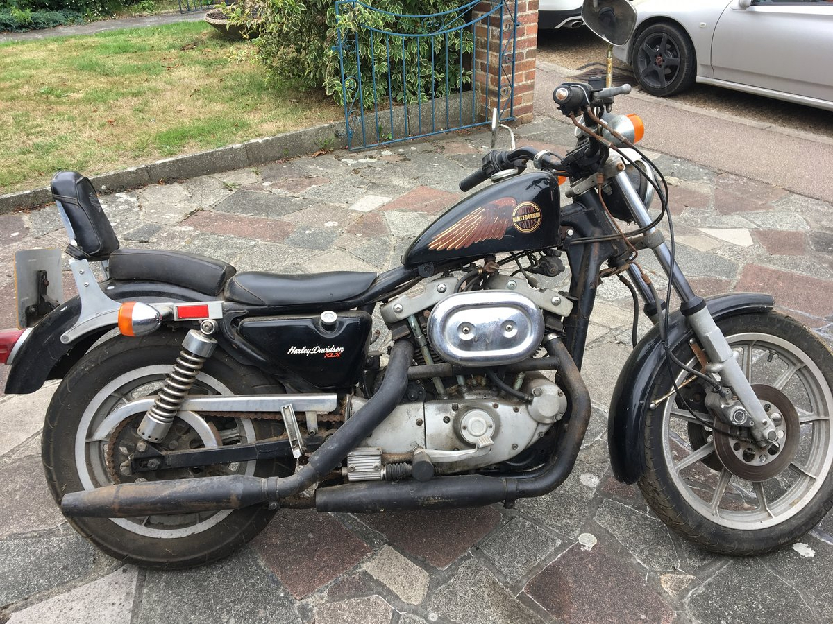 1982 From private classic collection - Harley Davidson For Sale (picture 1 of 2)