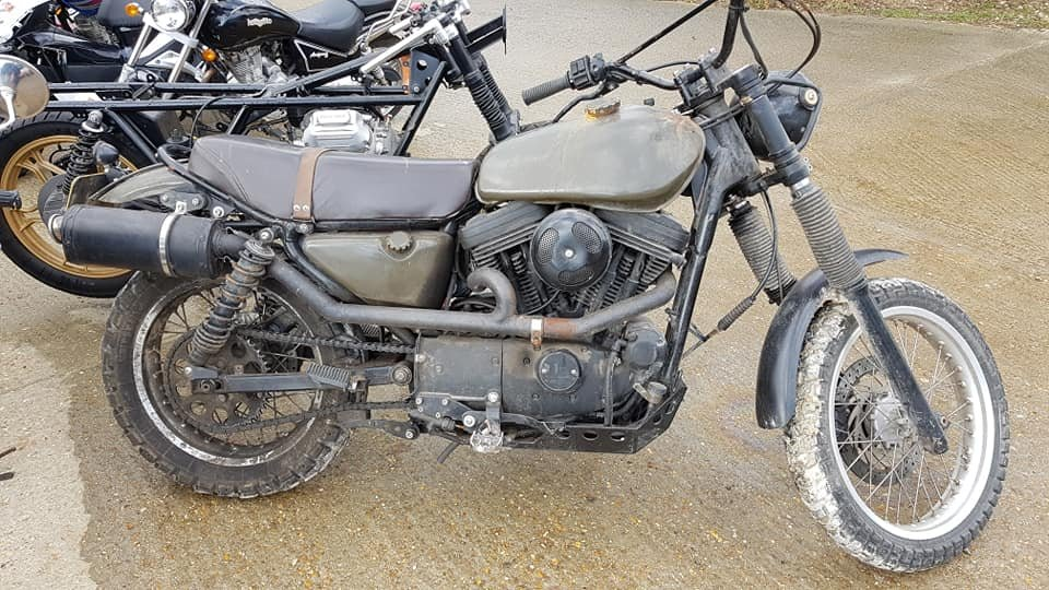 1987 Harley Davidson EVO 1100 Custom Flat Tracker For Sale (picture 1 of 1)