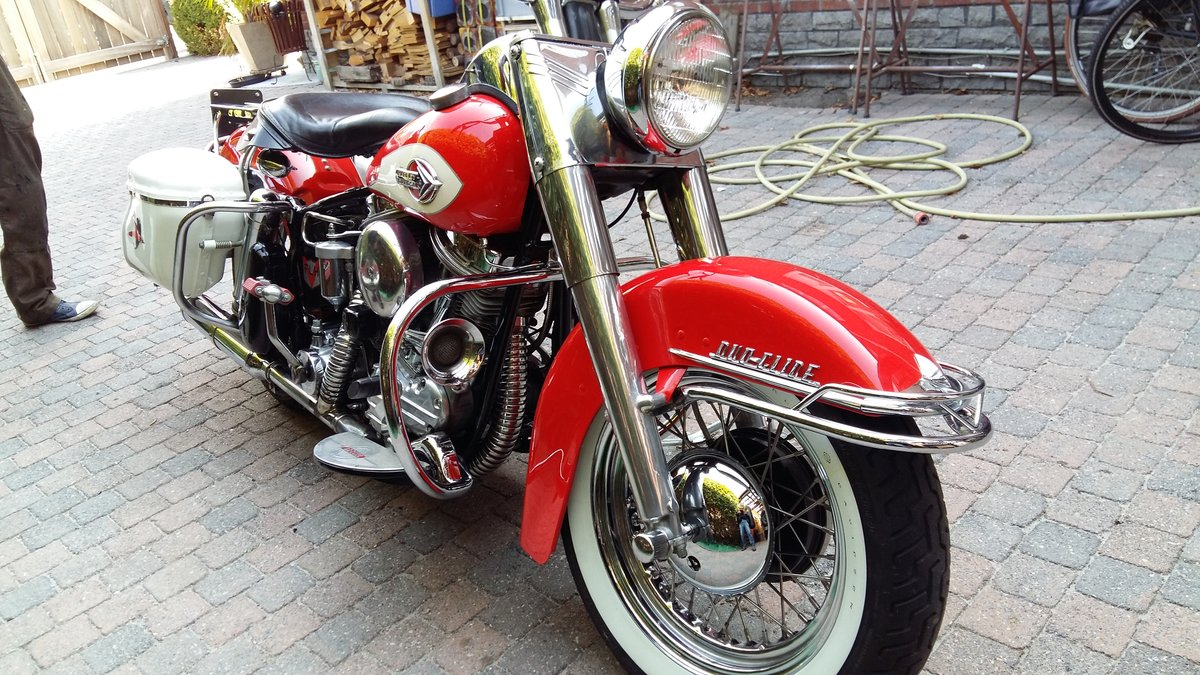 perfect HD panhead 1959 SOLD (picture 2 of 6)