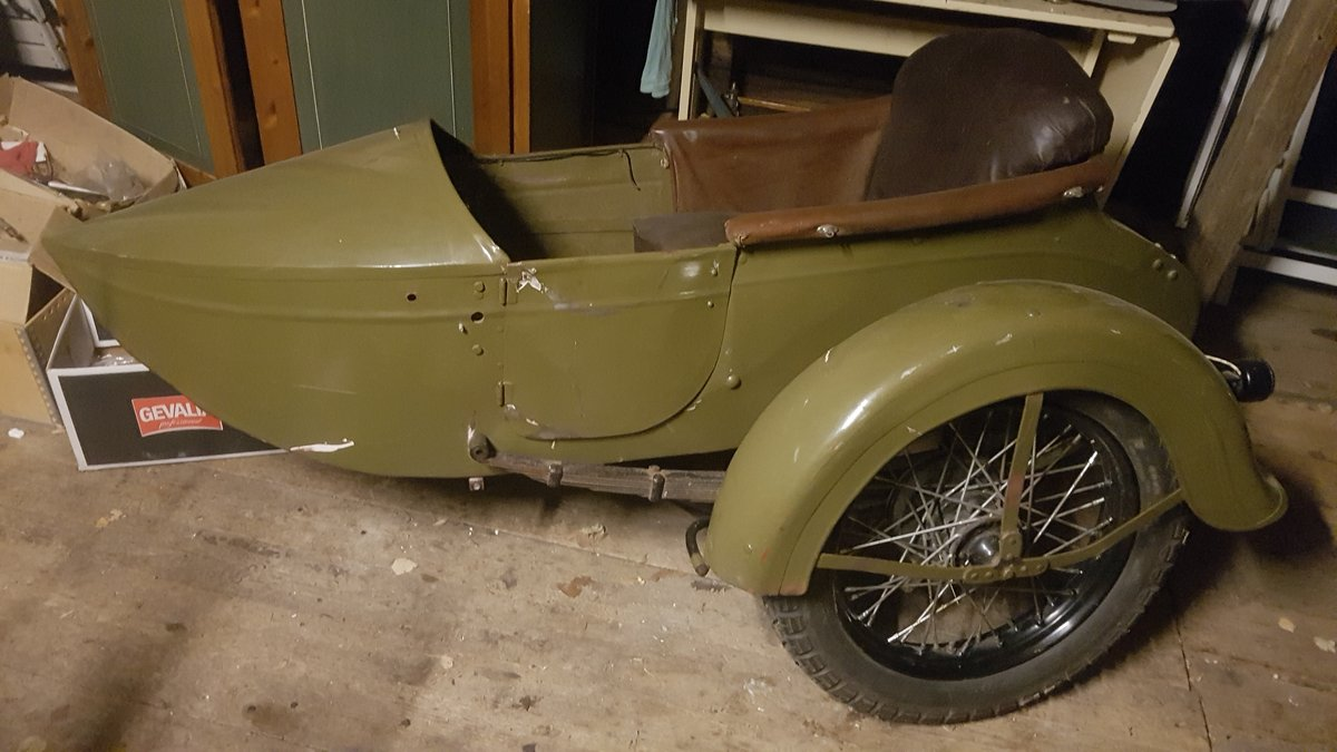 1930 Harley Davidson Sidecar For Sale | Car And Classic