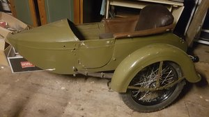 1930 Harley Davidson Sidecar For Sale
