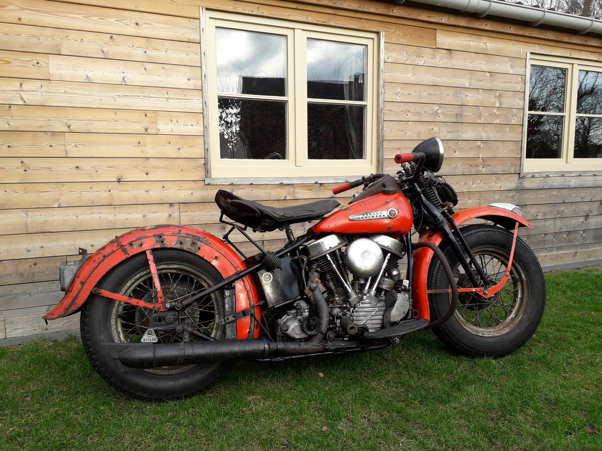1948 EL Panhead SOLD (picture 1 of 6)