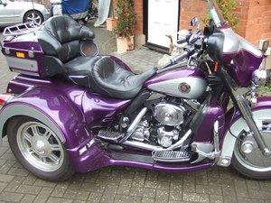 2001 Harley Lehman trike.