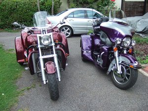 2001 Harley Lehman trike  SOLD | Car And Classic