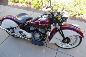 1940 1941 Indian Sport Scout