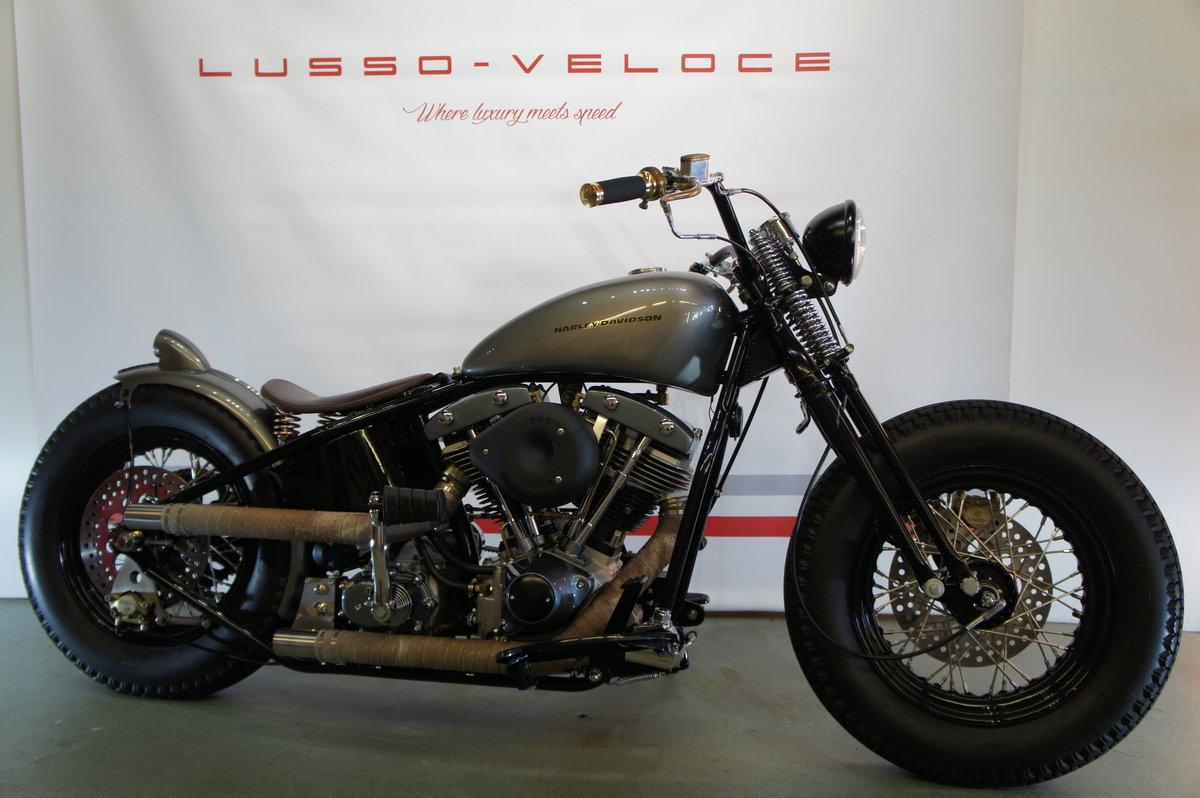 1973 Harley Davidson Shovelhead Bobber Pro Build For Sale (picture 1 of 6)