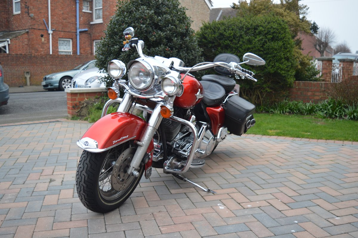 2000 Harley Davidson Road King for auction Friday 12th July  SOLD by Auction (picture 1 of 6)