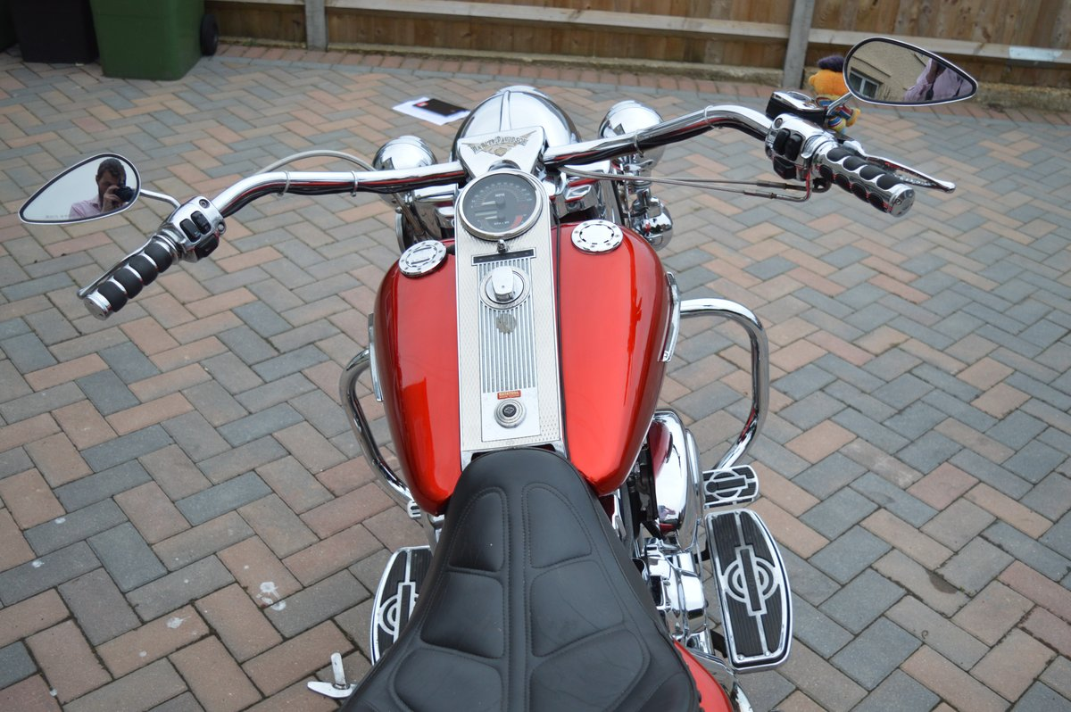 2000 Harley Davidson Road King for auction Friday 12th July  SOLD by Auction (picture 2 of 6)