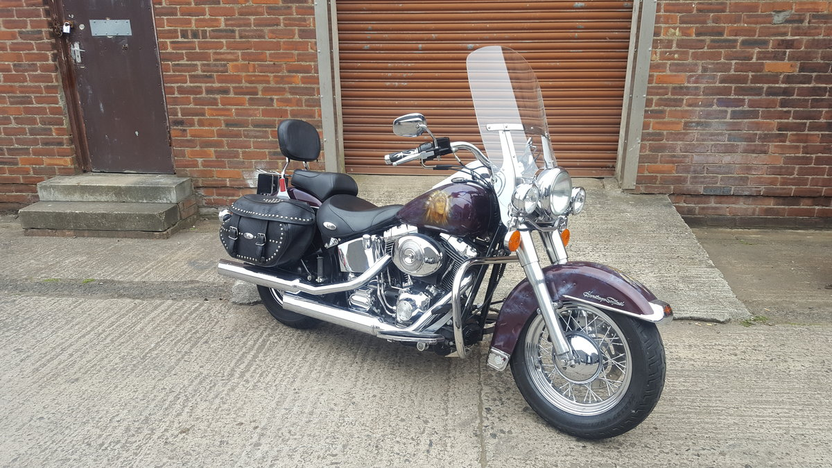 2005 Harley Davidson Heritage Softail Classic For Sale (picture 1 of 3)