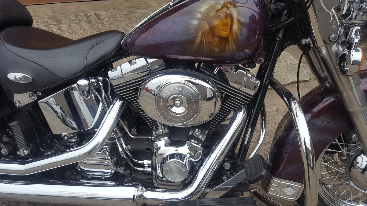 2005 Harley Davidson Heritage Softail Classic For Sale (picture 2 of 3)