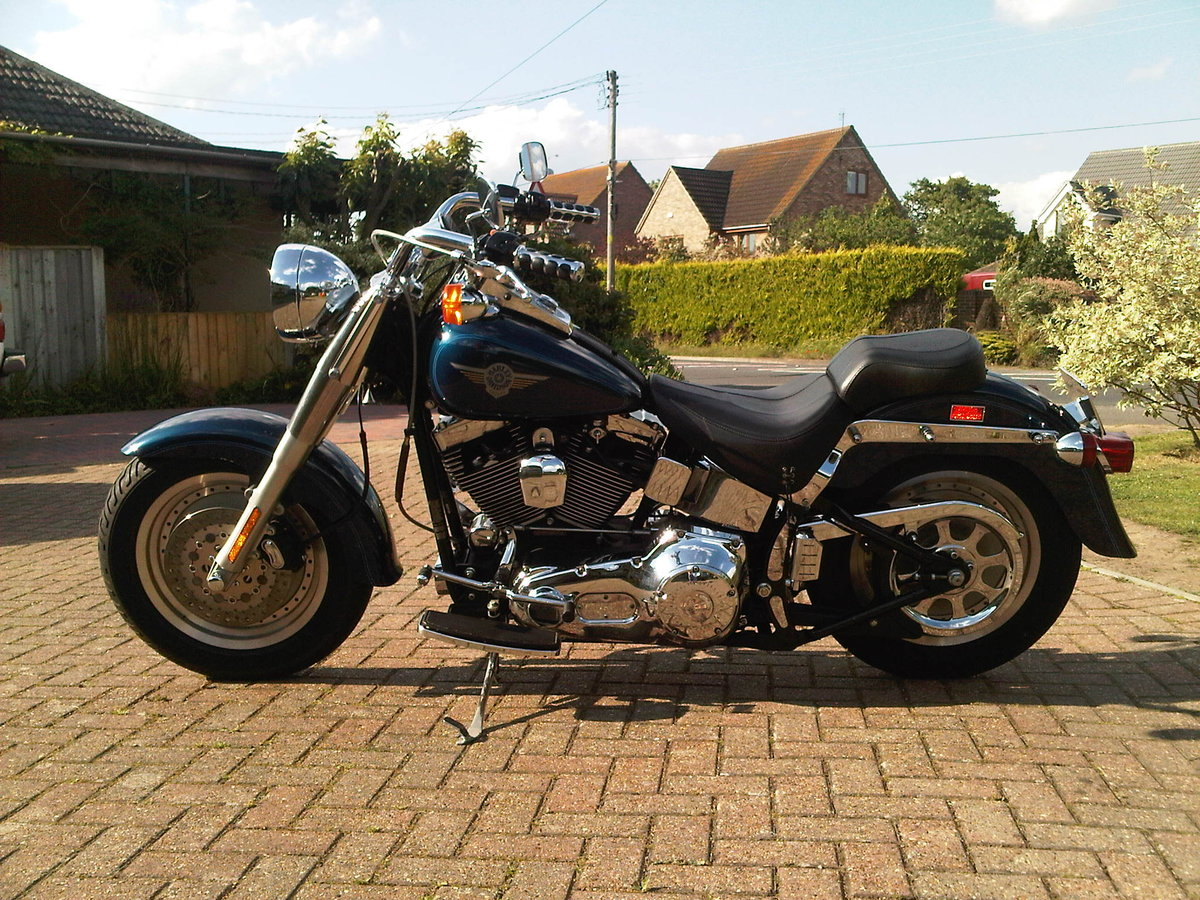 1900 harley fatboy softail etc anything  For Sale (picture 1 of 6)