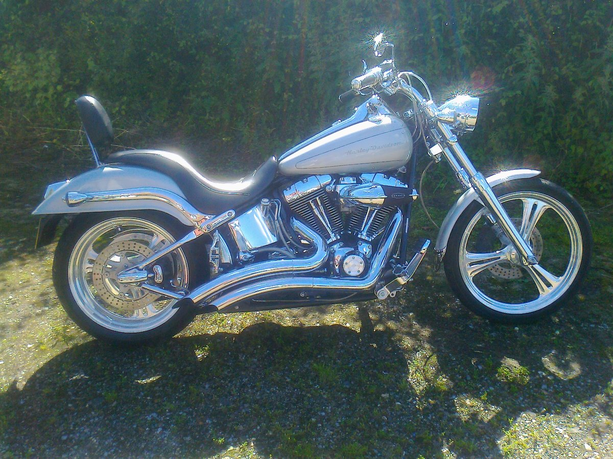 1900 harley fatboy softail etc anything  For Sale (picture 3 of 6)