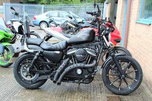 2017 67 Harley Davidson XL883 N Iron Custom Cruiser