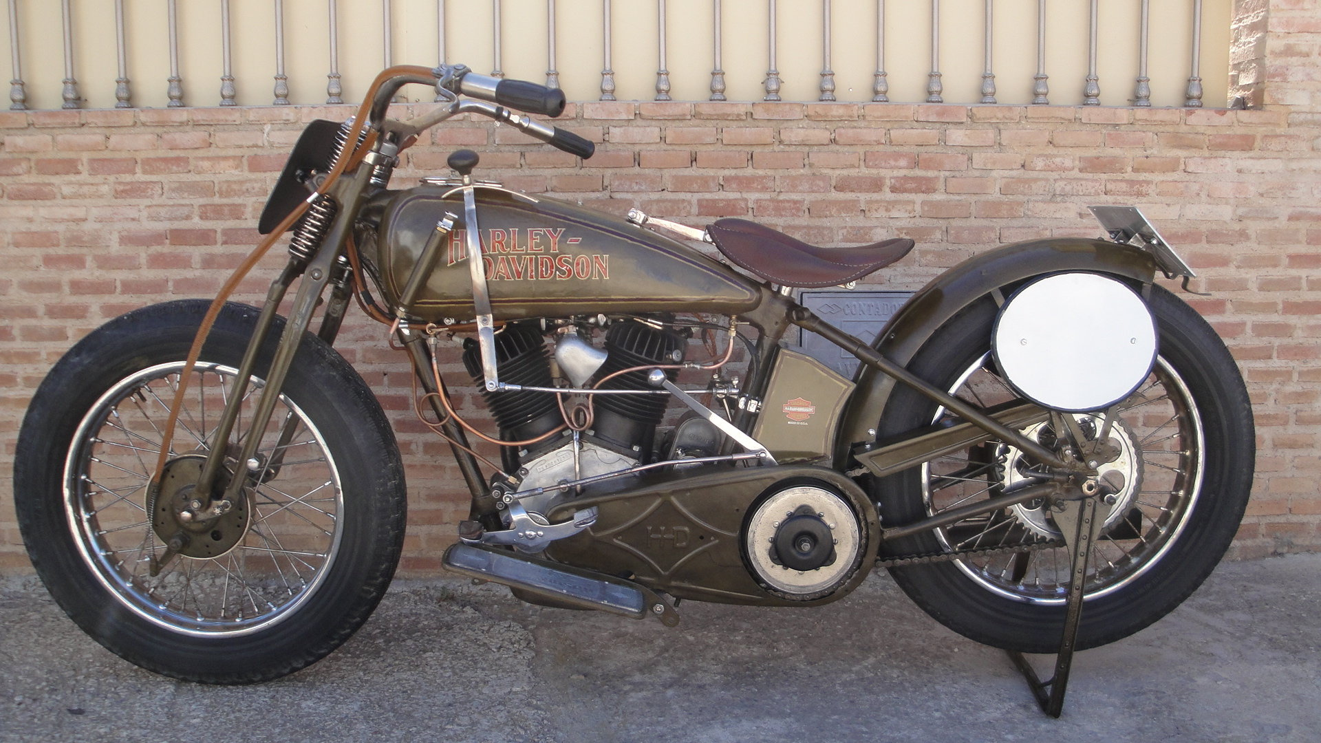"1925 Harley davidson 25fd 74"" 1200cc racer For Sale (picture 1 of 6)"