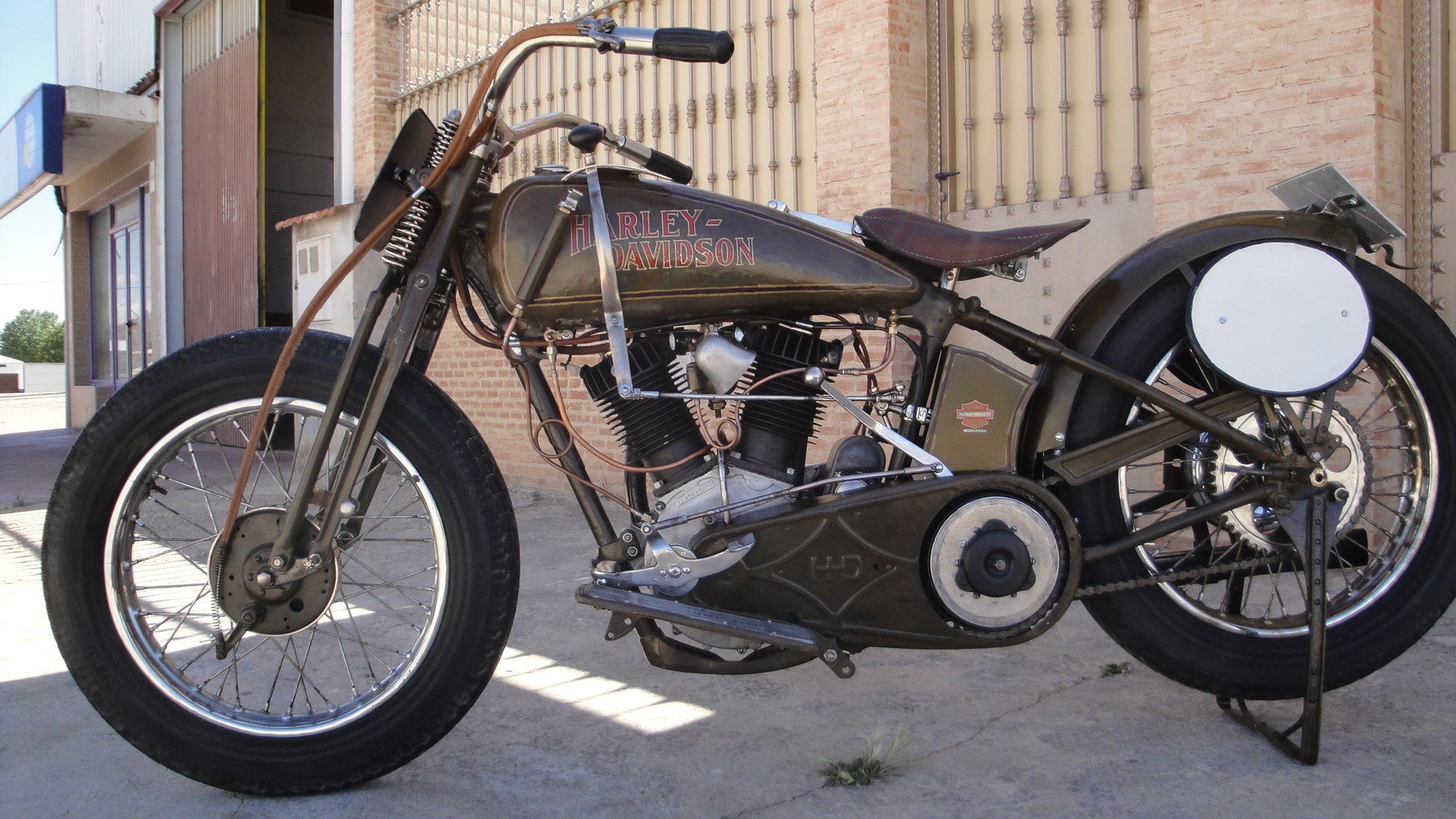 "1925 Harley davidson 25fd 74"" 1200cc racer For Sale (picture 5 of 6)"