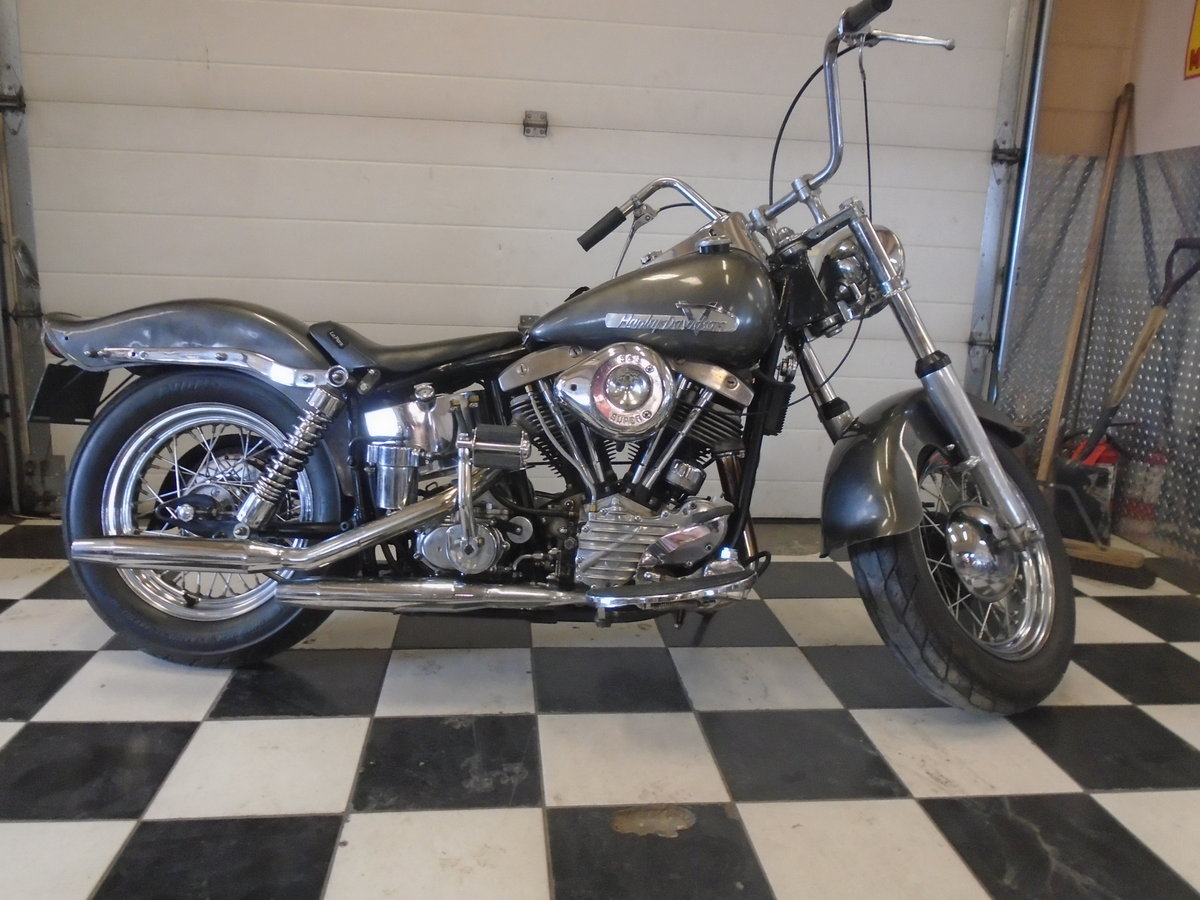 1948 Harley Davidson Pan-Shovel Custom -What a kil For Sale (picture 1 of 6)