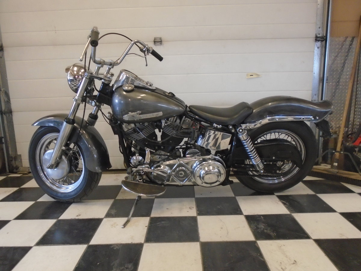 1948 Harley Davidson Pan-Shovel Custom -What a kil For Sale (picture 2 of 6)