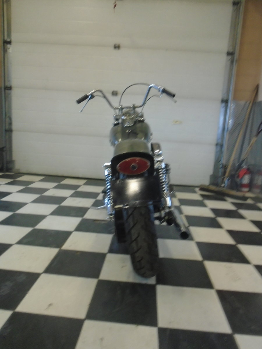 1948 Harley Davidson Pan-Shovel Custom -What a kil For Sale (picture 4 of 6)