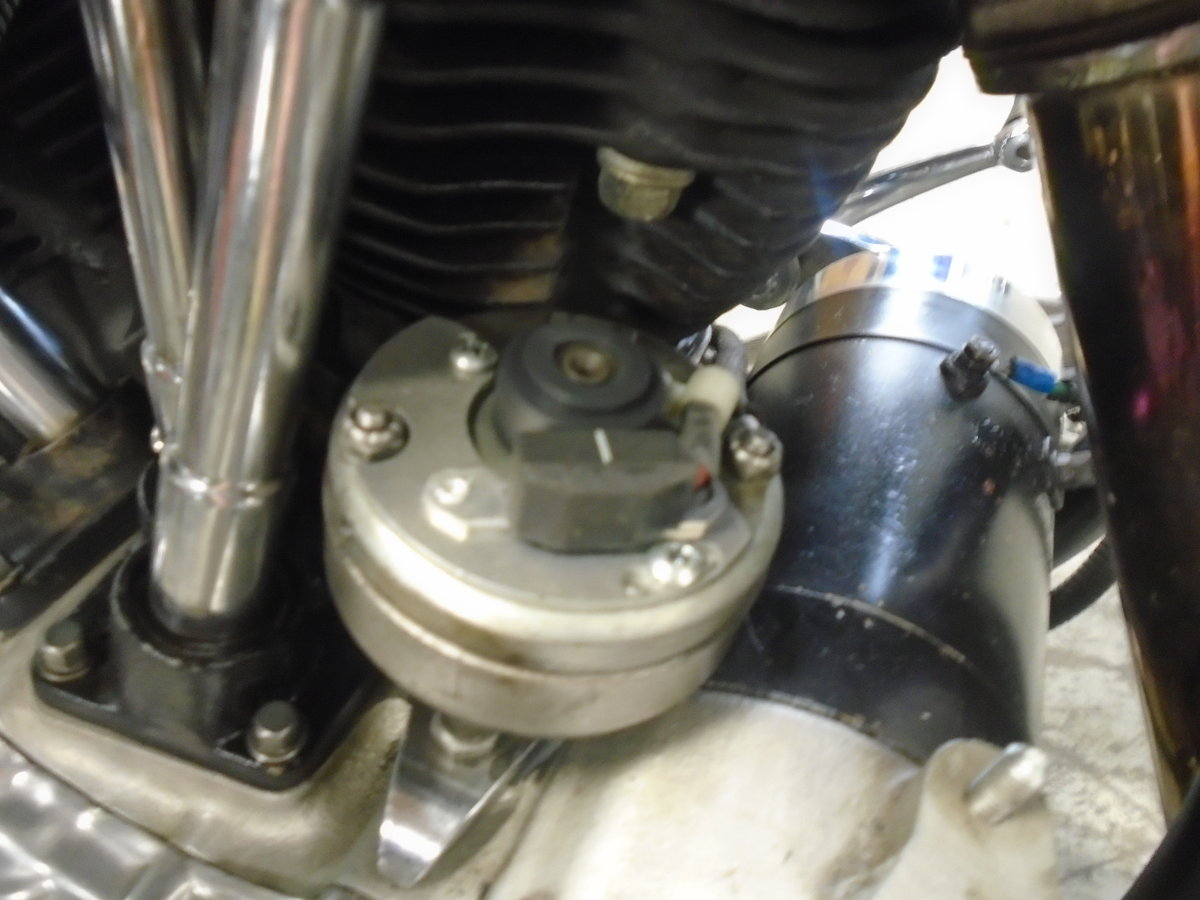 1948 Harley Davidson Pan-Shovel Custom -What a kil For Sale (picture 5 of 6)