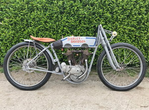 Harley-Davidson - Rivet tank racer project  1915 For Sale