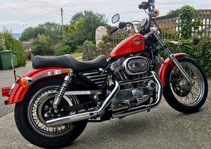 1993 low mileage Harley Davidson xlh 883 hugger