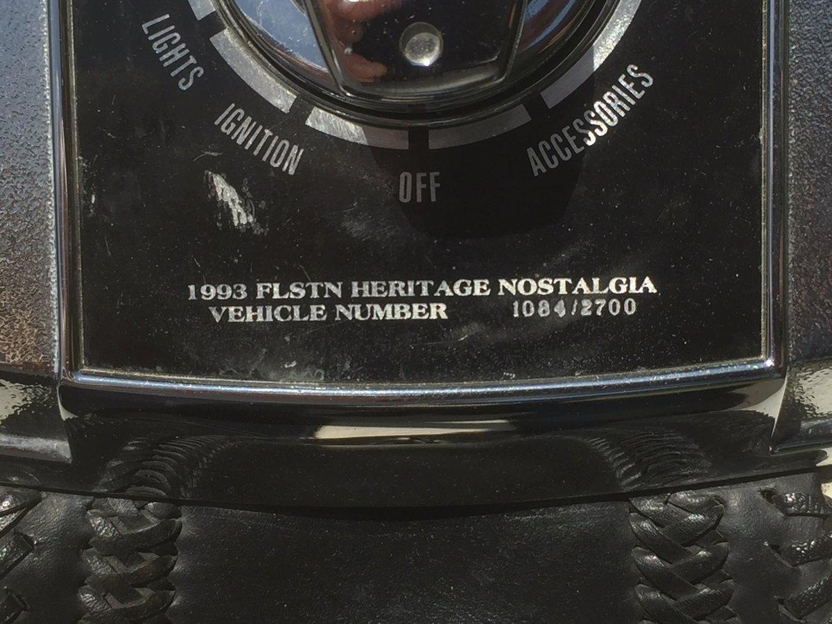 1993 Harley davidson Nostalgia Mooglide For Sale (picture 4 of 6)