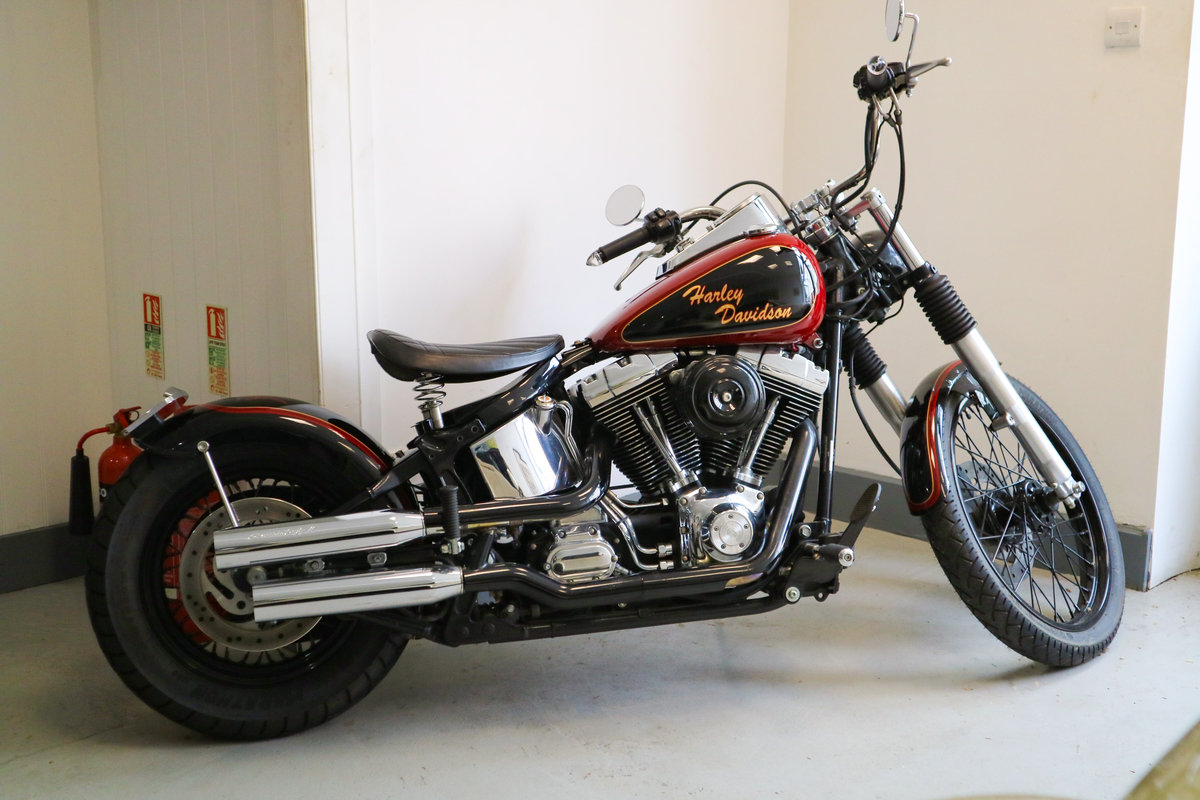 2002 Harley Fatboy Custom - 8500 miles SOLD (picture 2 of 2)