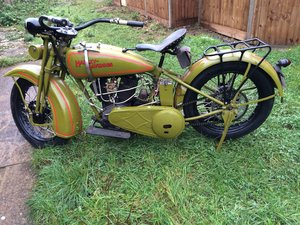 1929 Harly Daividson unfinished  Restoration Project For Sale