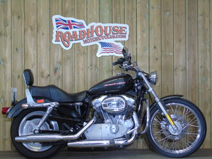 2007 Harley Davidson XL883C Sportster Custom Low Miles  For Sale