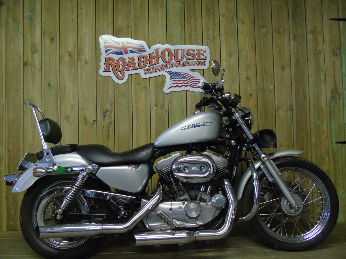 2006 Harley-Davidson XL 883L Sportster Stage 1, Full Service Hist For Sale (picture 1 of 6)