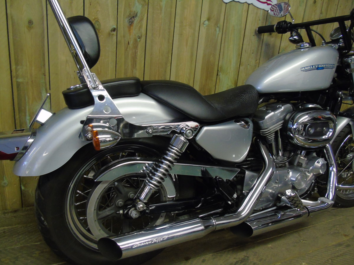2006 Harley-Davidson XL 883L Sportster Stage 1, Full Service Hist For Sale (picture 3 of 6)