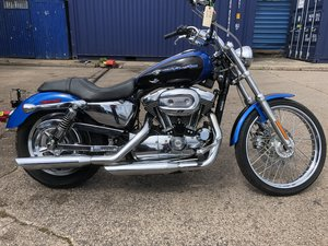 2004 Harley Davidson XL 1200c Custom Sportster For Sale