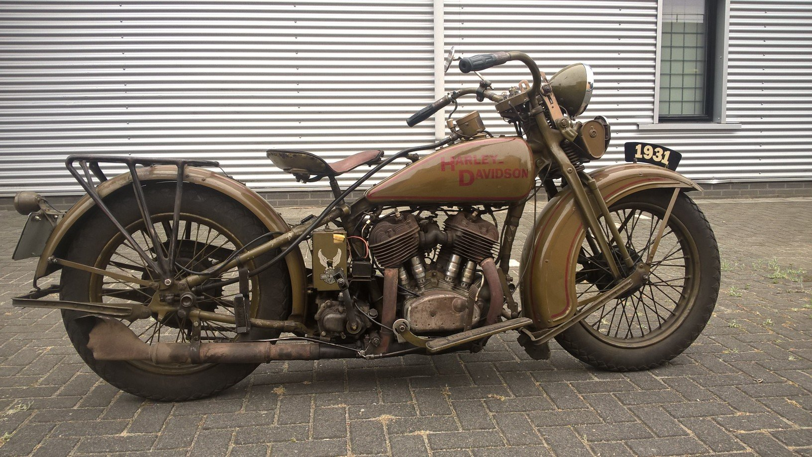 Harley davidson sidecar combination VL 1200 1932 SOLD (picture 1 of 6)