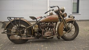 Harley davidson sidecar combination VL 1200 1932 SOLD