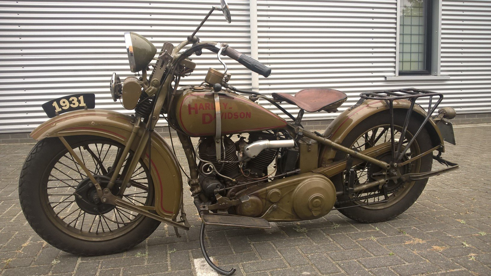 Harley davidson sidecar combination VL 1200 1932 SOLD (picture 4 of 6)