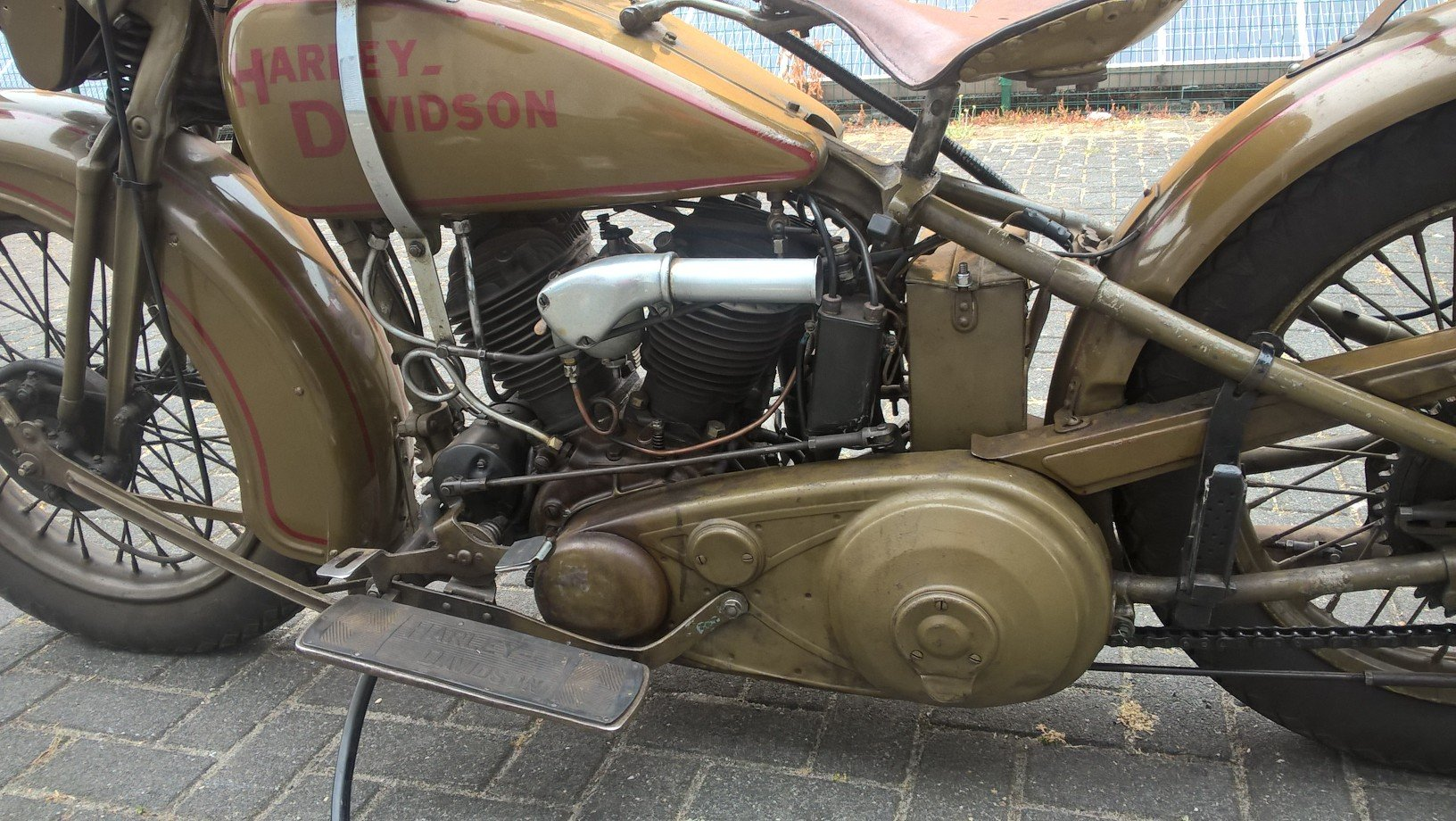 Harley davidson sidecar combination VL 1200 1932 SOLD (picture 6 of 6)