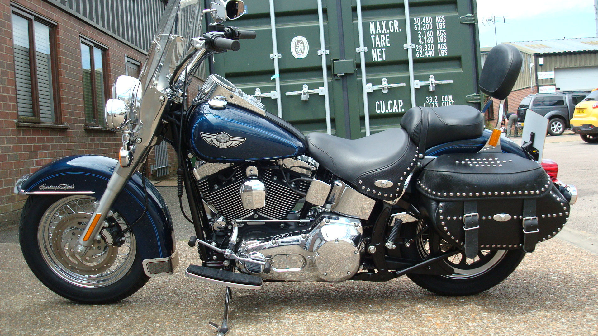 Harley-Davidson FLSTCI HERITAGE SOFTAIL 2003-53 **45 MILES F For Sale (picture 6 of 6)