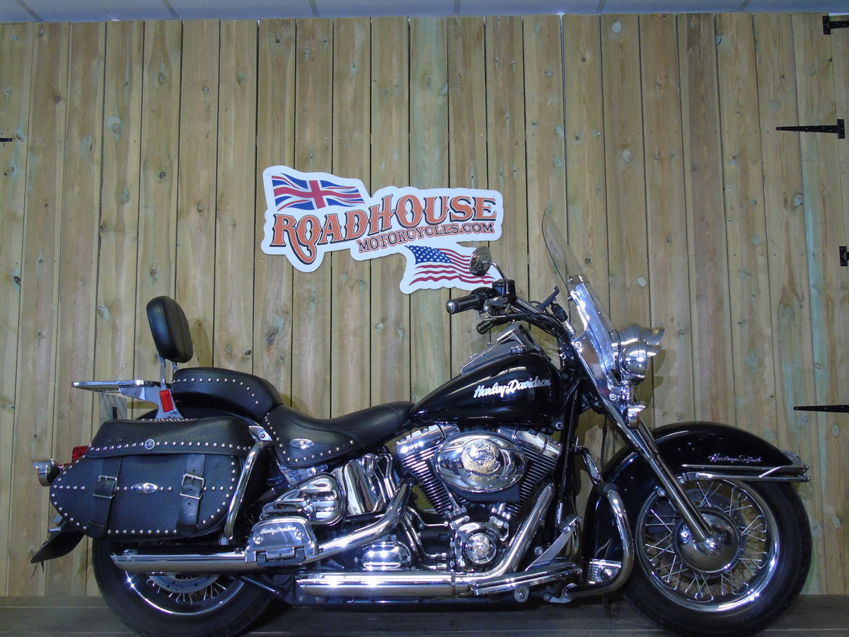 2007 Harley-Davidson FLSTC 1584cc Heritage Softail UK Delivery  For Sale (picture 1 of 6)