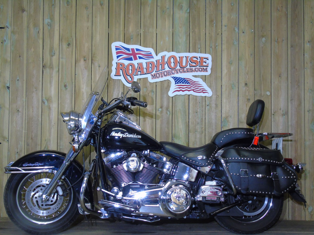 2007 Harley-Davidson FLSTC 1584cc Heritage Softail UK Delivery  For Sale (picture 2 of 6)