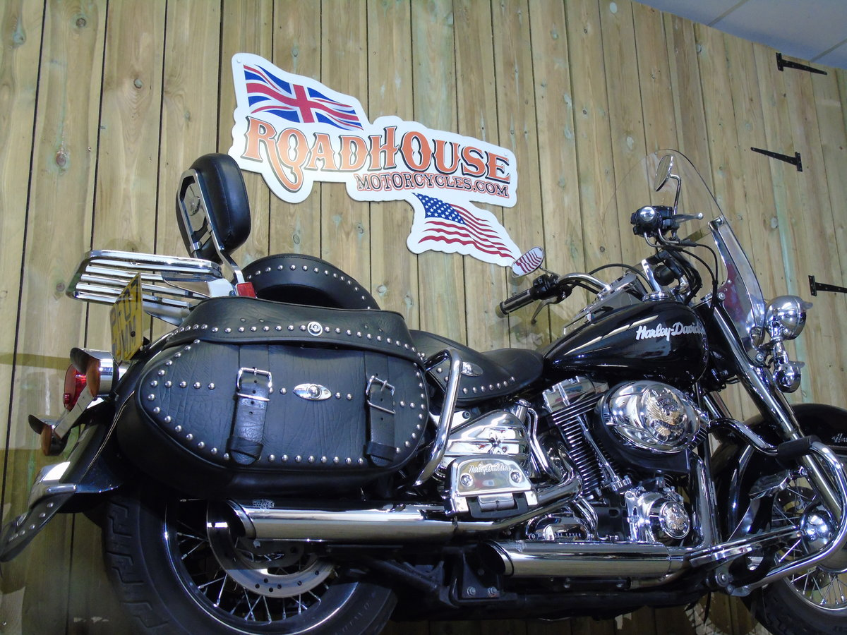 2007 Harley-Davidson FLSTC 1584cc Heritage Softail UK Delivery  For Sale (picture 3 of 6)