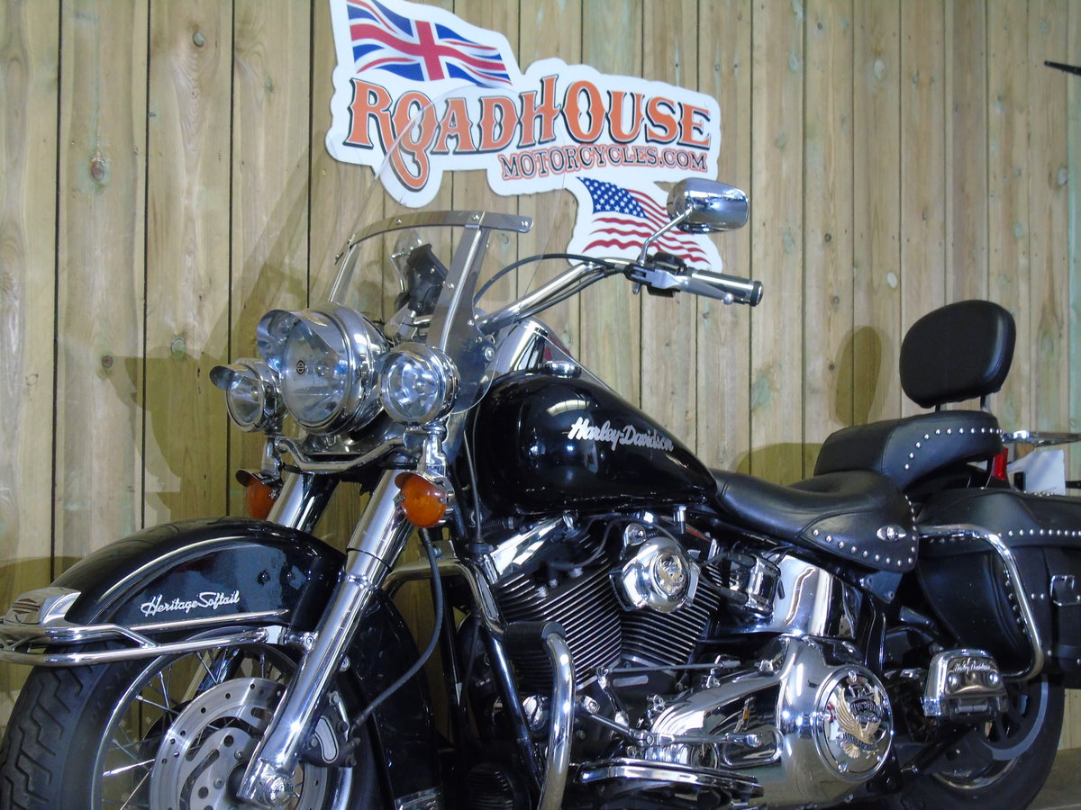 2007 Harley-Davidson FLSTC 1584cc Heritage Softail UK Delivery  For Sale (picture 4 of 6)