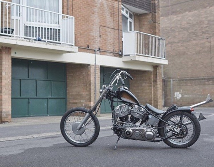 1967 Harley-Davidson chopper For Sale (picture 1 of 6)
