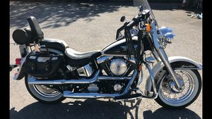 1993 Harley Davidson nostalgia flstn  Softail For Sale
