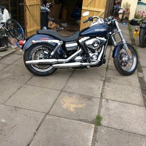 2013 Harley davidson dyna superglide For Sale