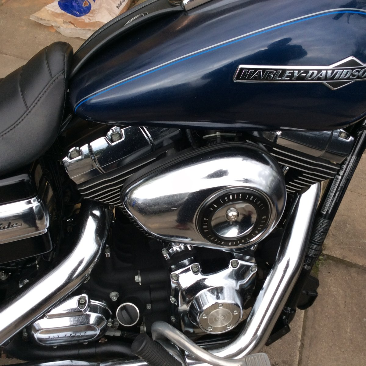 2013 Harley davidson dyna superglide For Sale (picture 5 of 6)