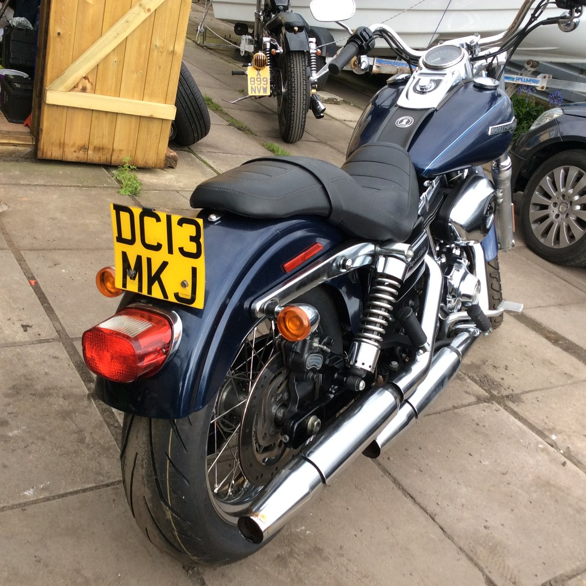 2013 Harley davidson dyna superglide For Sale (picture 6 of 6)